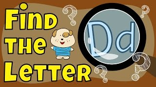 Letter Game | Find the Letter D | The Singing Walrus