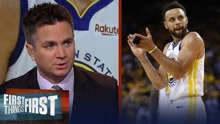 Steph Curry's Game 3 performance was extremely impressive - Chris Mannix | NBA | FIRST THINGS FIRST