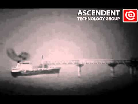 Long Range IR Laser Camera with Fog Filter, Coastal, Marine, and Harbor Security