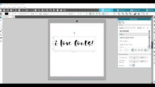 How to install and use fonts with Silhouette Studio - PC Edition