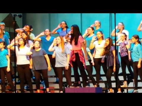2017 Chorale with Sydney Solo at 1:23