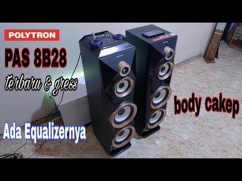 POLYTRON PAS 8B28,,terbaru & Gress Body Transformers Juga Ada Equalizernya