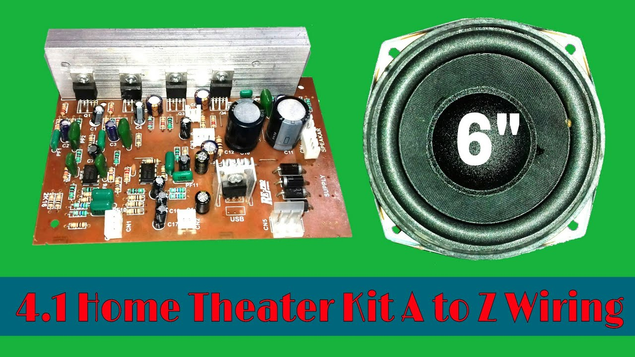 41 Home Theater Kit Wiring