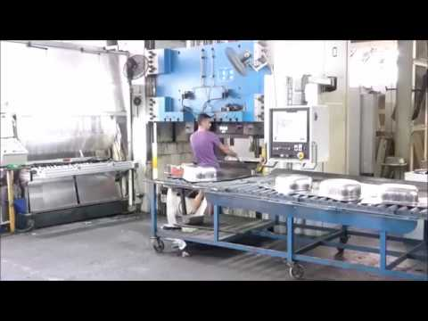 Stainless Steel Sink Press Line