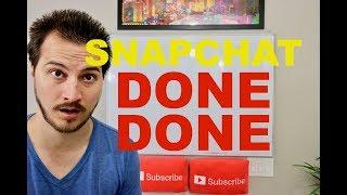 Snapchat Stock Crash! May Go Bankrupt!
