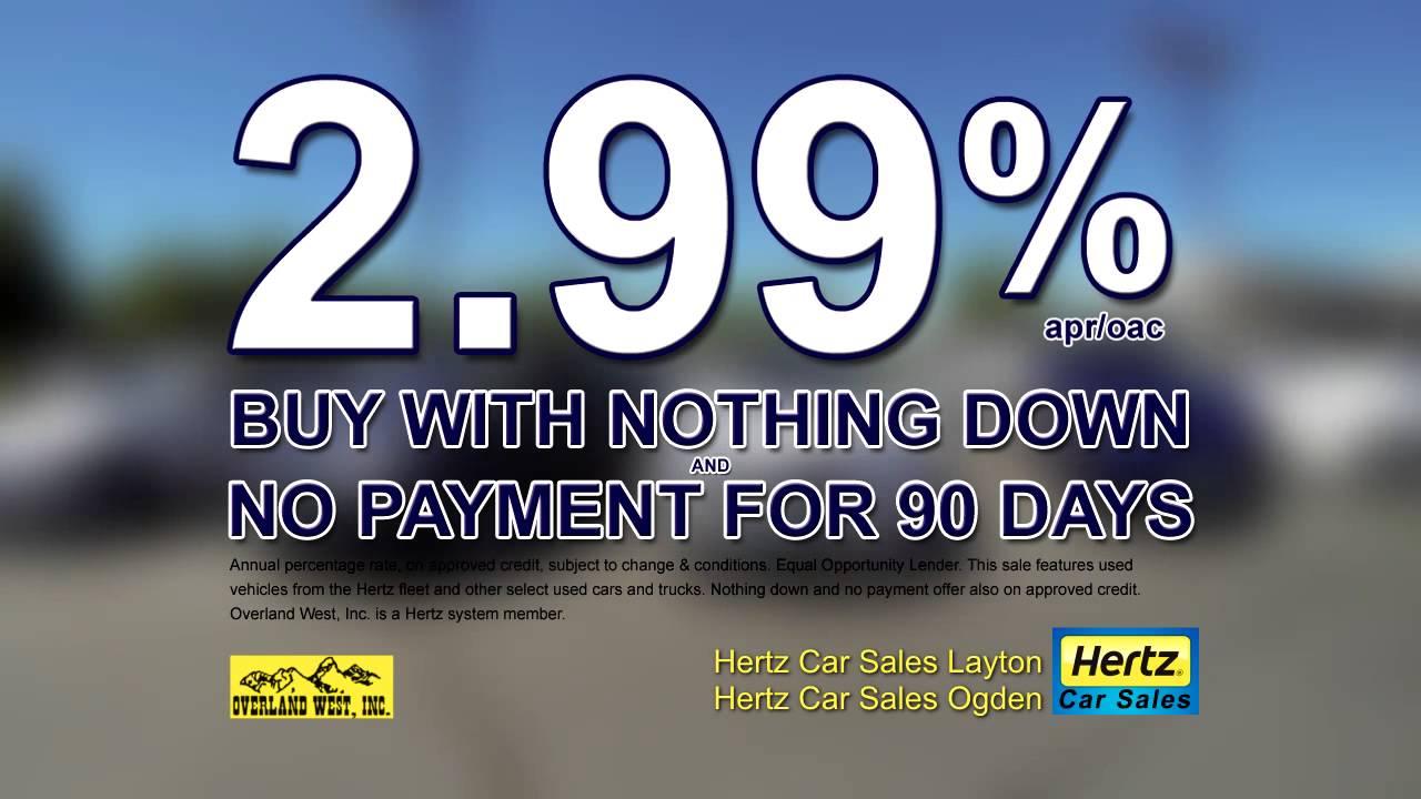 Hertz Used Car Sales Layton America First Sale! - YouTube
