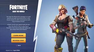 How to download Fortnite save the world for free 2019 *working*
