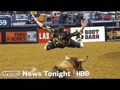 Freestyle Bullfighters Are Bringing The X Games To The Rodeo (HBO)