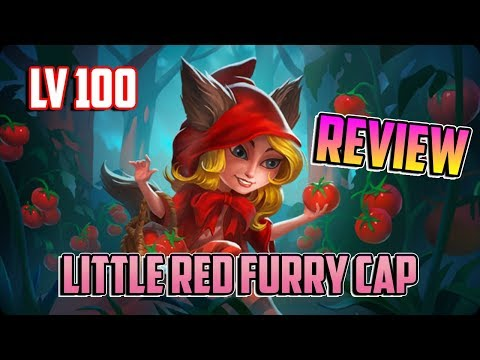 MY LITTLE RED FURRY CAP !! - Review Monster Legends