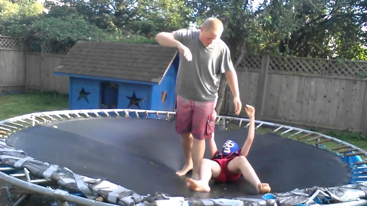 1020 backyard wrestling kick nuts