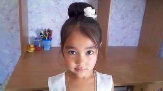 Детская Прическа на 1 Сентября Простая Прическа\Hairstyle September 1st Beautiful Hairstyle