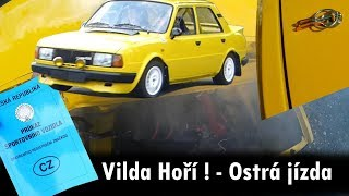 Vilda burns ?! Ride - Seatbelts - Exhaust - Car hood :) BEZ KOMPRESE (: Vlog_26 Skoda 130Lr