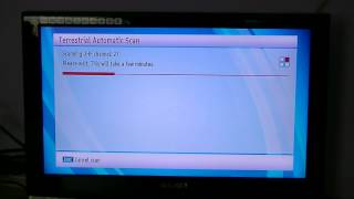 Walker WP645TS-HD Combo - Scan in Irish Saorview Channels
