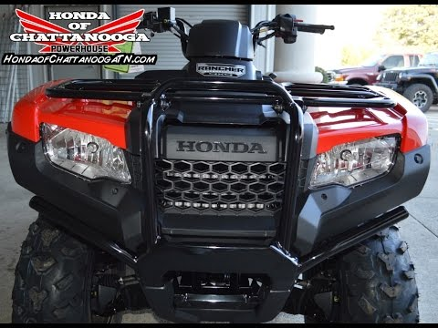 2015 Rancher AT SALE / Discount ATV Prices : Honda of Chattanooga TN PowerSports Dealer / TRX420FA1F