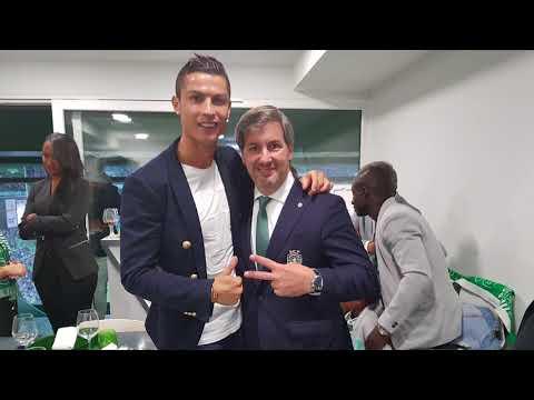 Bruno de Carvalho e Cristiano Ronaldo são Feitos de Sporting e vão ser pais.