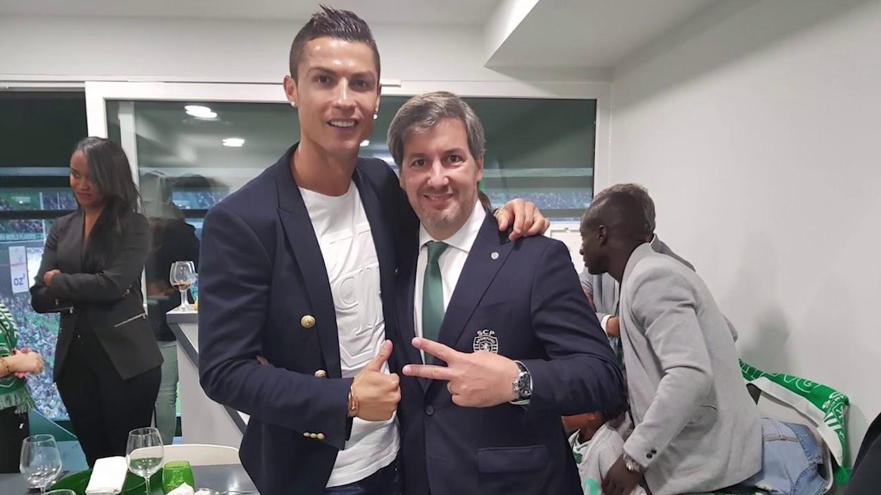 Download Bruno de Carvalho e Cristiano Ronaldo são Feitos de Sporting e vão ser pais.