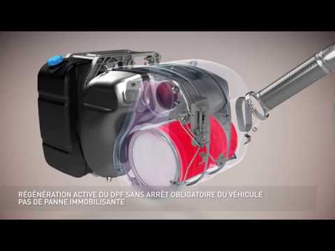 Tecnología de motor Euro 6 - 3D motion picture - Renault Trucks