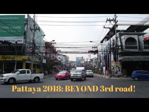 Pattaya 2018: Wilderness wandering!! Klang and the backstreets beyond 3rd road.