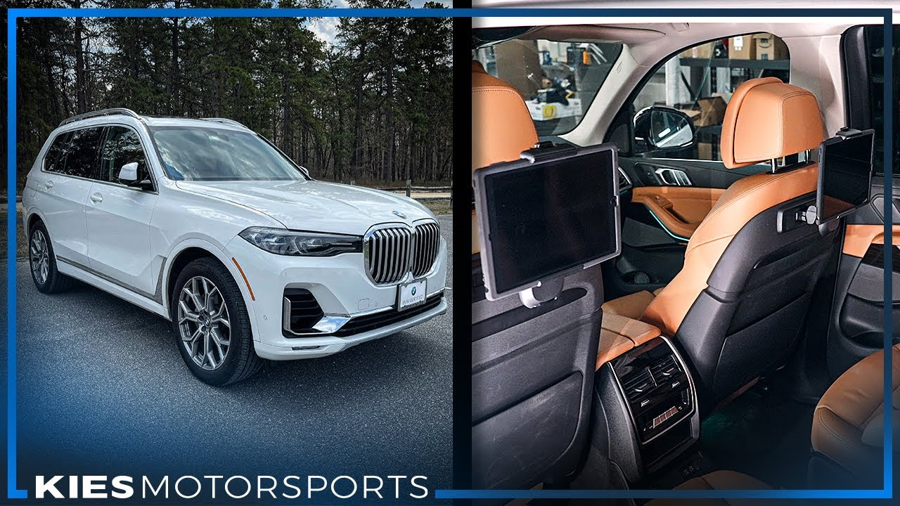 How to add iPads to your BMW X7 G07 (Android & Apple Tablets)