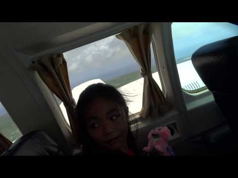Tinian to Saipan by Airplane (Tinian Fiesta 2015)
