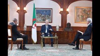 مباشر| مقابلة الرئيس تبون مع الصحافة الوطنية للرد على العديد من المسائل الداخلية والإقليمية