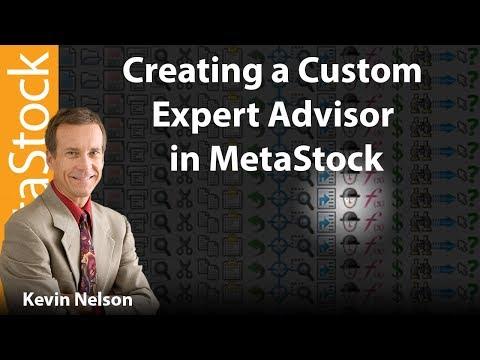 How to Create a Custom Expert Advisor in MetaStock