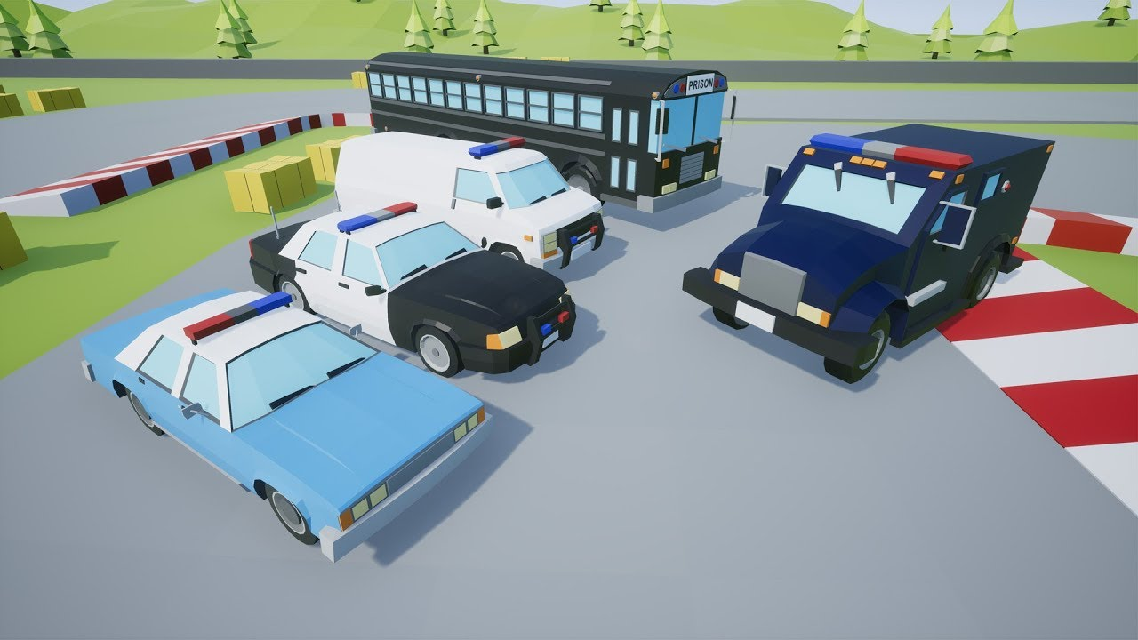 Low Poly Vehicles Police Pack 3 - Unreal Engine Forums