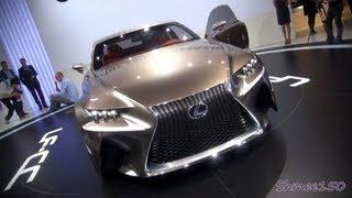 Lexus LF-CC Concept 2012 Videos