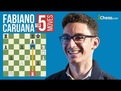 Fabiano Caruana's 5 Most Brilliant Chess Moves