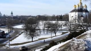 Чернигов - Пушки на Валу (зима 2013) HD(Панорамная съемка в HD, на смотровой площадке между двумя пушками., 2013-02-24T18:02:29.000Z)