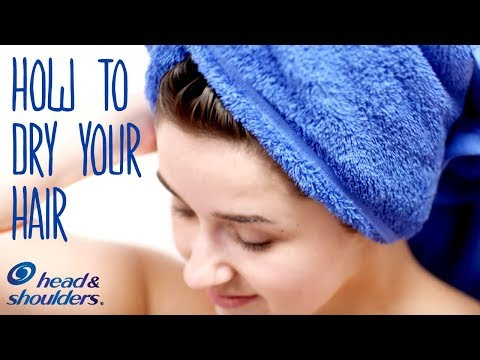 How To Dry Your Hair Without Damaging It | Healthy Hair Tips