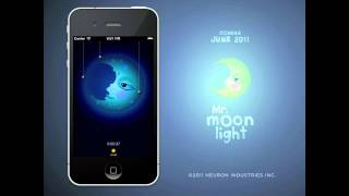 Mr Moonlight : Children's Visual Alarm Clock App