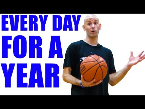 I Dribbled A Basketball An Hour A Day For A Year, Here's What Happened