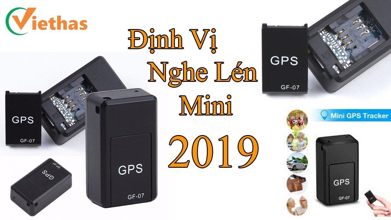 Hướng dẫn thiết bị theo dõi định vị nghe lén  GPS GF07 2019