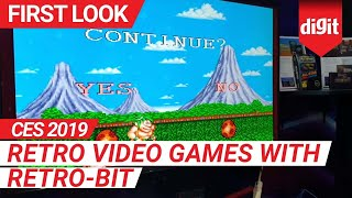 CES 2019: Retro Video Games with Retro-Bit | Digit.in