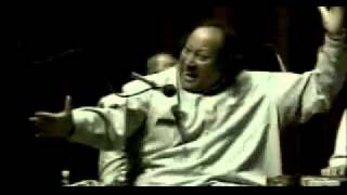 Nusrat Fateh Ali Khan -Mera Piya Ghar Aaya Live at Washington University with english subtitles
