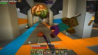 Etho's Modded Minecraft #29: Locomotion Elevator