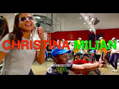 Christina Milian  Am to PM  JR Taylor Choreography