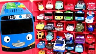 disney cars 2 storage carry case tayo the little bus 50 robocar poli 꼬마버스타요 디즈니카 2 깜짝장난감 тайо 로보카폴리