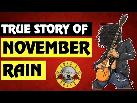 Guns N' Roses Documentary: The True Story Behind November Rain & The Music Video!