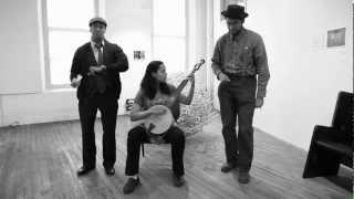 Carolina Chocolate Drops - Instrument Interview: Bones & Banjo (sleepover Shows)