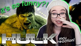 okay, wait, i LOVE this?! (my first time watching hulk!!) | the incredible hulk movie commentary 💚