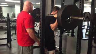 Filip Krznaric | Push your limits | 315LB squat for 20 reps