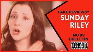 FAKE Reviews Ordered by Sunday Riley - The leaked email and the