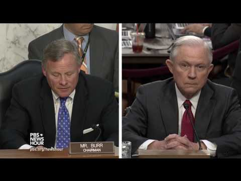 Sen. Burr to Sessions: This is your opportunity to set the record straight