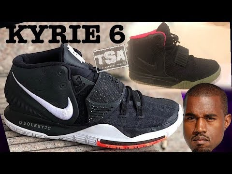 Nike Kyrie 6 Sneaker Biting off the Nike Yeezy 2 Shoes? sneakernews
