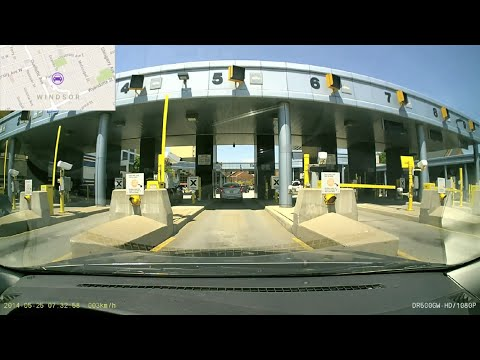 Canada - United States Border Crossing (2) - Detroit Windsor Tunnel (Detroit, MI ~ Windsor, ON)