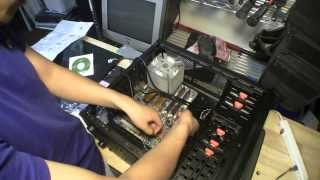 Motherboard, Graphics Card, Computer Case, Power Supply Unit Installation (Pt 2)