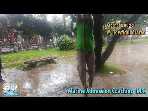 Roping Practice   Marine Admission Coaching-MAC   Bangladesh Marine Academy