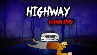 Highway horror story | Hindi Animated Horror Stories